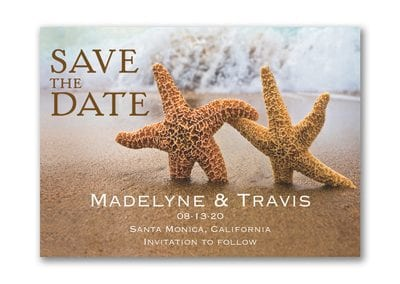 Beach Loving Save The Date