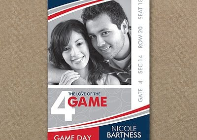 Love of the Game - Baseball Save The Date